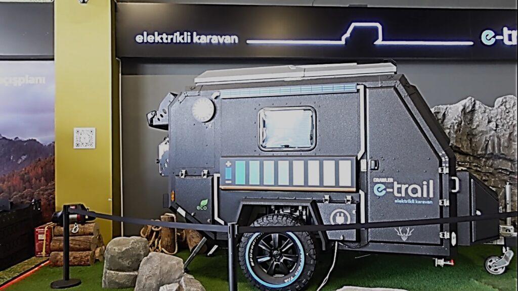 crawler e-trail ve güneş enerjisi depolama