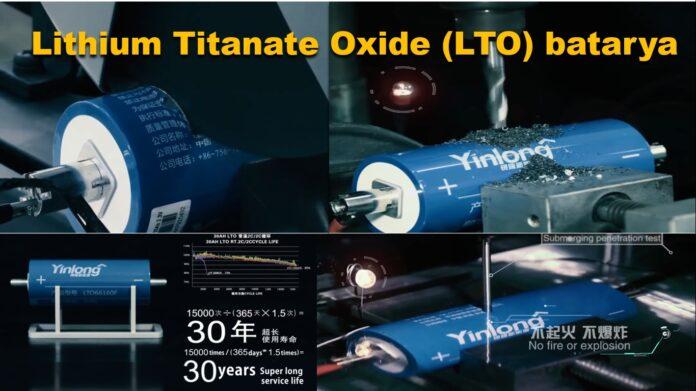 yinlong lithium titanate batarya